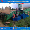 Wasserweed-Erntemaschine und Bagger