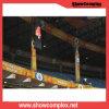 Signe polychrome d'intérieur de la location DEL de Showcomplex pH2.5