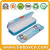 Rechteckiger Zinn-Bleistift-Kasten für Kinder, Bleistift-Zinn-Kasten