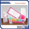 Personalizzare il PVC trasparente che piega la scatola di plastica libera
