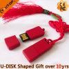 Disco de destello del USB del metal del estilo chino del regalo del OEM (YT-3218-02)