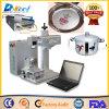 venda da máquina do marcador do laser do CNC da cor de 20W mini Mopa