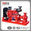 Kyc motorangetriebene Wasser-Dieselpumpe verwendet Bewässerung-in der manuellen Anfangswasser-Pumpe