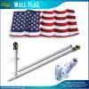 6FT de Vlag van de Muur van de V.S. met de Vlaggestok van het Aluminium