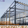 Almacén prefabricado de la estructura de acero de la instalación rápida del bajo costo, estructura de edificio de acero