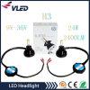 2X 40W 4000lm G5自動車LEDのヘッドライト9005/Hb3/H10 6000kの高い発電の変換360度の穂軸LEDs