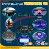 Funny 9d de la vibración Vr de cine en movimiento, vibración eléctrica entretenimiento 9D simulador de VR