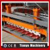 Roulis en acier de profil de feuille de tuile de toit trapézoïdal formant la machine C20