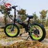 Vélo de montagne électrique caché de pli de batterie avec le gros pneu