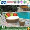 Freizeit-Möbel-Garten-Möbelrattan gesponnener Daybed (TG-JW22)