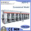 Gwasy-C8 Económico Medio Color velocidad de la máquina de impresión de huecograbado 110m / min