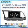 Para a Hyundai Elantra 2015/2016 aluguer de DVD com GPS Rádio Multimedia