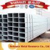 Sección hueco rectangular galvanizada del tubo de acero