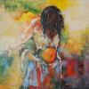 Peintures à l'huile sur la toile (HSP808001)