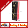 Bolso de papel de lujo de encargo del regalo de las compras con la impresión de la insignia (2328)