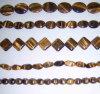 Cadena cristalina de la piedra preciosa del grano de la piedra preciosa semi (ESB01780)