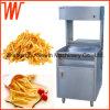 Calentador eléctrico vertical de las patatas fritas del acero inoxidable
