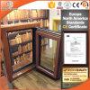O alumínio folheados ou chapeados de madeira de carvalho Casement janelas com isolamento térmico perfeito