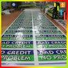 Kundenspezifische Vinylereignis-Fahne, Belüftung-im Freienfahne