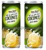 スペインのココナッツミルクのココナッツジュースの飲み物