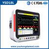 Monitor paciente portátil quente de equipamento médico da venda