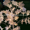 테이블 장식적인 가벼운 빨강 단풍나무 LED 나무 빛