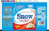 30g, detergente detergente de la marca de fábrica de la nieve del bolso de la bolsita 35g para el mercado de África