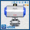 Vávula de bola eléctrica del actuador del interruptor F316 de Didtek