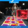 LEIDEN van de Stroom van Guangzhou Vloeibare Interactief Effect Kleurrijk Draagbaar Vloeibaar Dance Floor