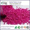Color de rosa Masterbatch de material plástico utilizado para la electrónica