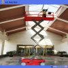 El trabajo aéreo del contador de Sjyz automotor Scissor la plataforma