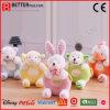 안전 견면 벨벳 유아 장난감 박제 동물 아기 가르랑거리는 소리 연약한 아기 장난감