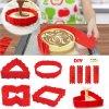 Создателя Waffle прессформы торта силикона для силикона Bakeware малышей установили Nonstick комплект прессформы выпечки силикона