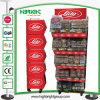 Acoplamiento de alambre de la promoción del supermercado que empila la cesta de la visualización