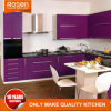 Exotischer Farben-Lack-haltbarer Küche-Schrank