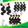 100%の加工されていない卸し売り緩い波のブラジルのバージンの毛