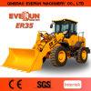 Циндао Everun 3,0 тонн колесный погрузчик с регулируемыми Вилы для поддонов
