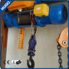 Élévateur électrique de treuil MD1 de construction à deux lignes de câble métallique