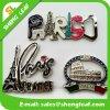 Souvenir turistico Cheap Custom Logo Metal 3D Aluminum Fridge Magnet