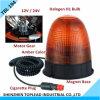 ハロゲン回転警報灯/警報灯の/Revolvingの磁気警報灯/屋外の回転式警告ランプ(TBL 194)