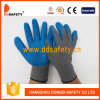 Ddsafety 2017 Grey Nylon with Blue Latex Glove