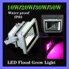 Водонепроницаемый для использования вне помещений 10W синий 554 нм красный 660нм гидропонное огородничество Светодиодный прожектор растений растут лампа