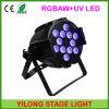 LEIDENE van de Was van de Macht van Rgbawuv van de Prijs van de fabriek 6in1 de Hoge Lichten van het Effect