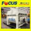 Misturador do equipamento de construção Js1500 Beton, misturador concreto do eixo gêmeo