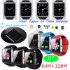 Bluetooth 4.0 de Waterdichte Slimme Telefoon van het Horloge met Camera 1.3m (Q7)