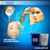 Borracha de silicone RTV-2 líquida para a fatura das máscaras do silicone