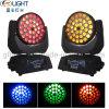 36*10W RGBW 4in1/5in1/6in1 LED Summen-bewegliches Hauptwäsche-helles Stadiums-Licht