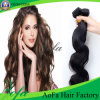 Extensión brasileña del pelo humano de la Virgen del pelo sin procesar de Remy Weavon