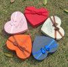 Boîtes de cadeau en forme de coeur de biscuit d'impression