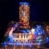 Пластичное Tower Building Model Making с Nice Lighting (BM-0637)